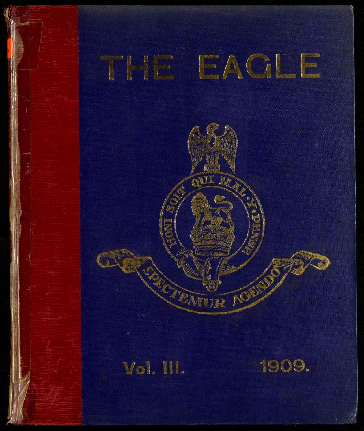The eagle royal dragoons bound books the eagle 1909