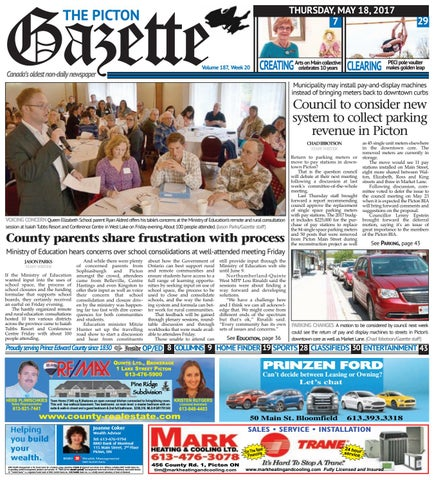 28aca712dd0 Picton Gazette May 18
