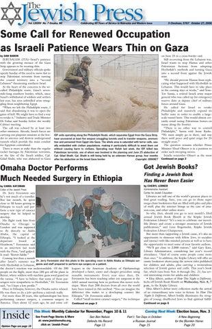 October 27 2006 By Jewish Press