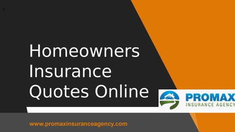Homeowners Insurance Quote Online | Homeowners Insurance Quotes Online By Shane Watson Issuu