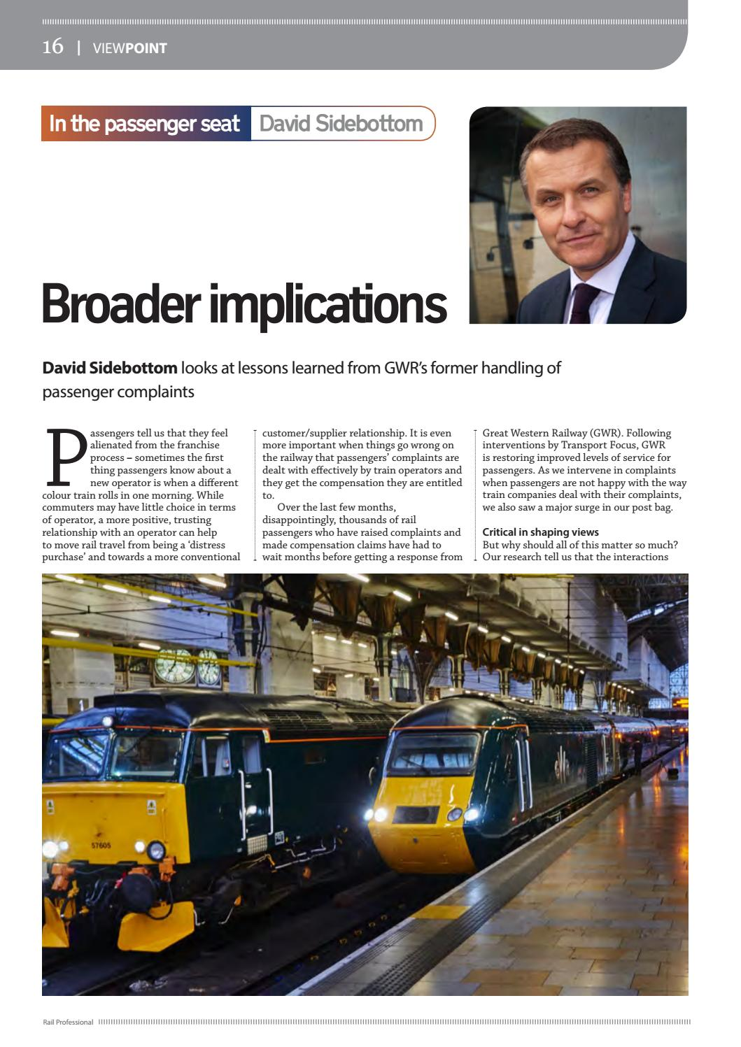 Rail Professional May 2017 by Rail Professional Magazine - issuu