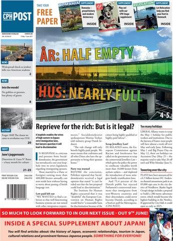 The Copenhagen Post May 19 June 9 By The Copenhagen Post