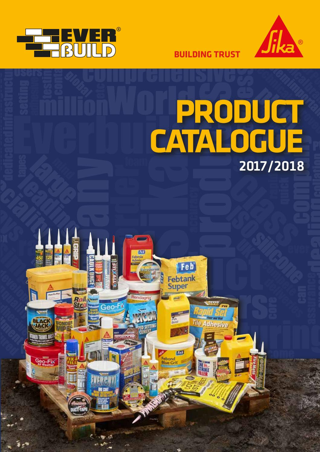 Sika Everbuild Catalogue 2017 2018 By Sika Everbuild Issuu