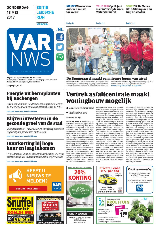 2db80f5a187 VARnws Leidsche Rijn 18 mei 2017 by VARnws - issuu