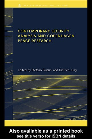 Contemporary security analysis copenhagen peace research by tarik page 1 malvernweather Choice Image