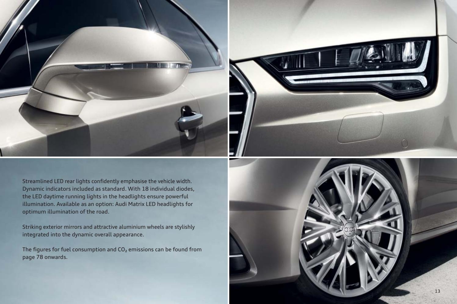 Audi A7 Ja S7 Esite 42017 By Avidly Agency Issuu
