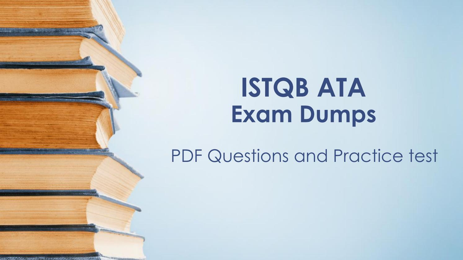 Istqb Advanced Test Analyst Book