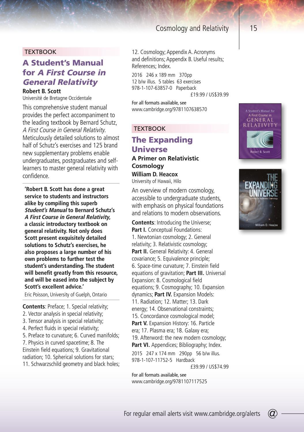 Astronomy, Astrophysics & Planetary Science 2017 by Cambridge University  Press - issuu