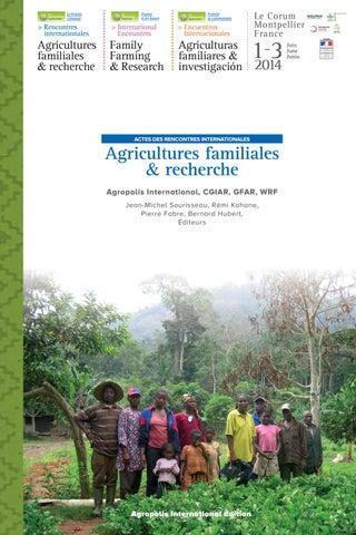 Rencontres internationales agricultures familiales et recherche