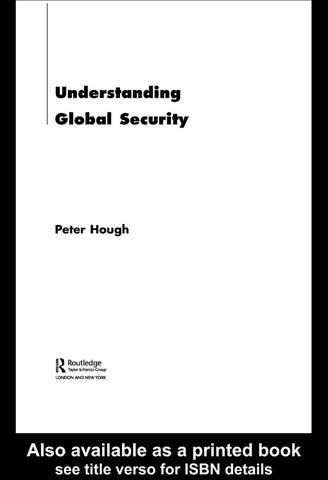 Understanding Global Security by Tarik Lotfi - issuu