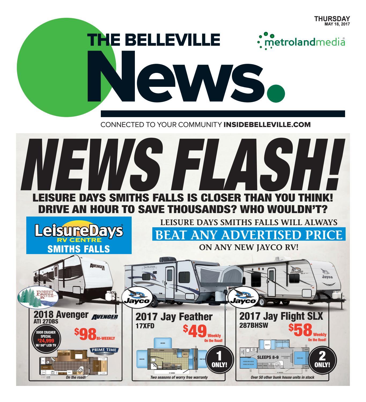 Belleville051817 By Metroland East Belleville News Issuu Tv Wiring Diagram Jayco Jay Flight