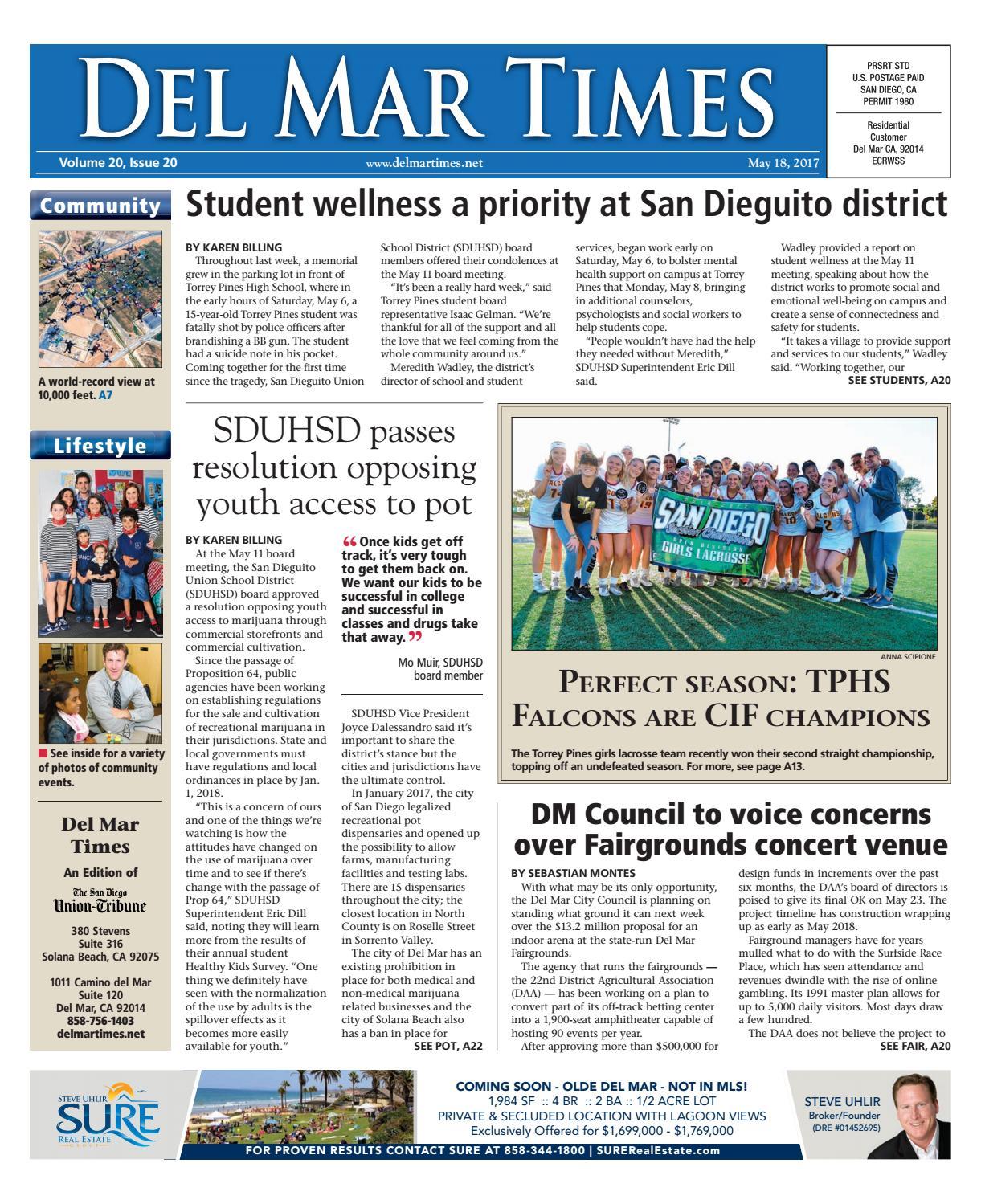 Del Mar Times 05.18.17 by MainStreet Media - issuu