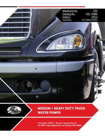 Heavy-Duty Gates 43325HD Engine Water Pump-Water Pump
