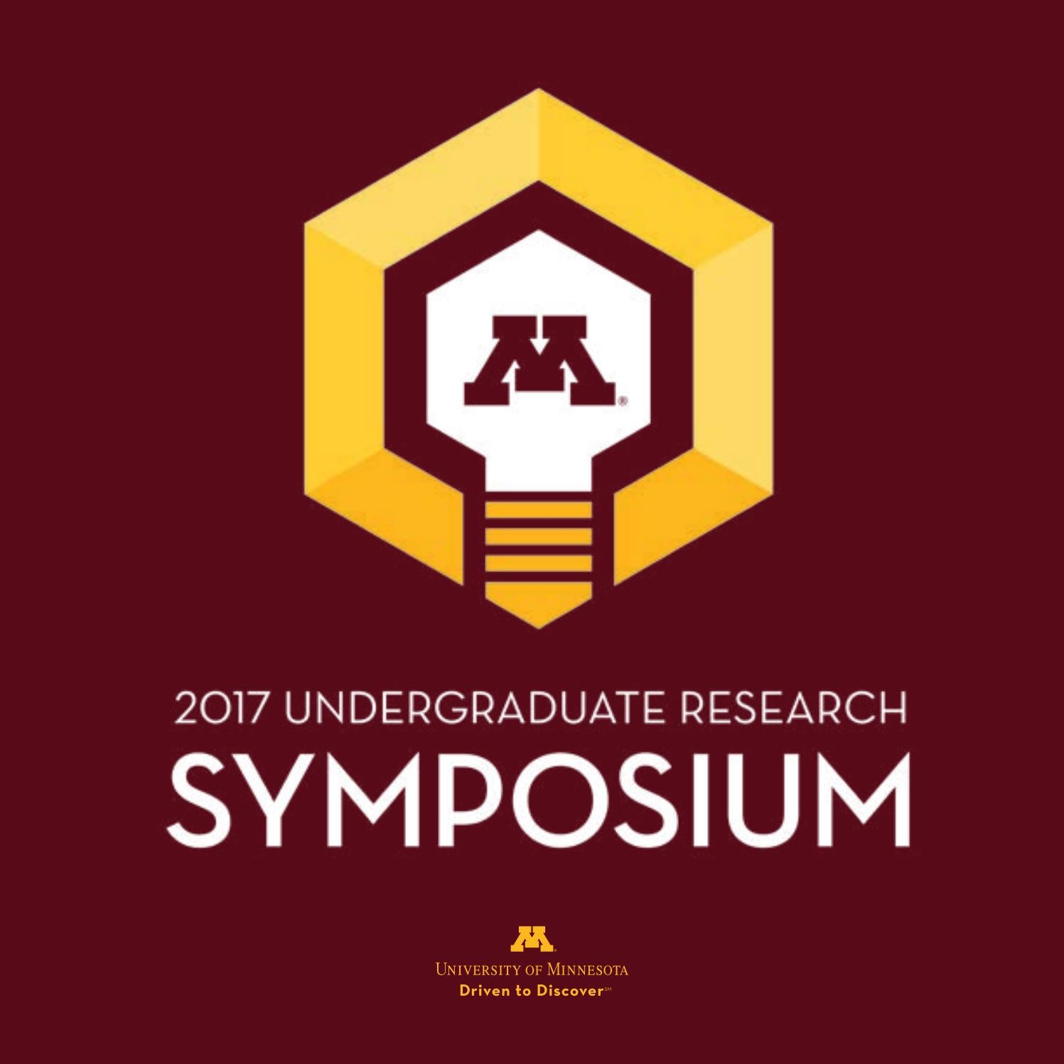2017 Undergraduate Research Symposium Booklet by Office of ...