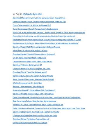 Ebook ilmu hadits download
