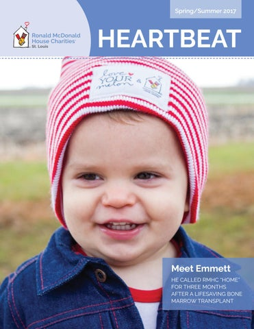 953dfa30ab8 2017 Spring Summer Heartbeat Newsletter by Ronald McDonald House ...