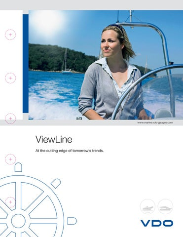"VDO Viewline Tachometer Gauge LCD Hourmeter 85mm 3/"" 4000 RPM White A2C59510093"