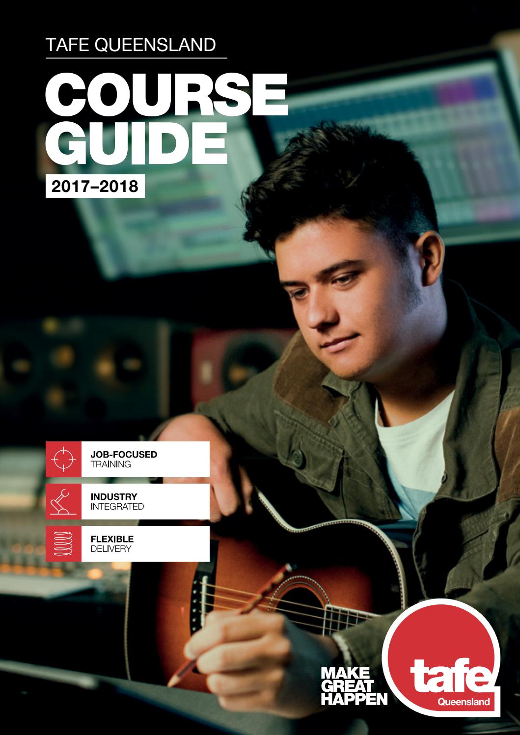 2017 18 Course Guide By TAFE Queensland East Coast