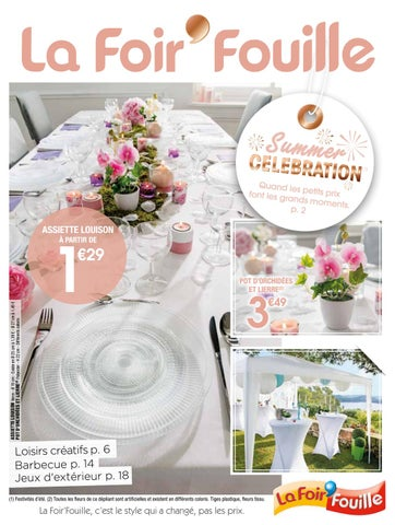 catalogue summer cel bration by la foir 39 fouille issuu. Black Bedroom Furniture Sets. Home Design Ideas