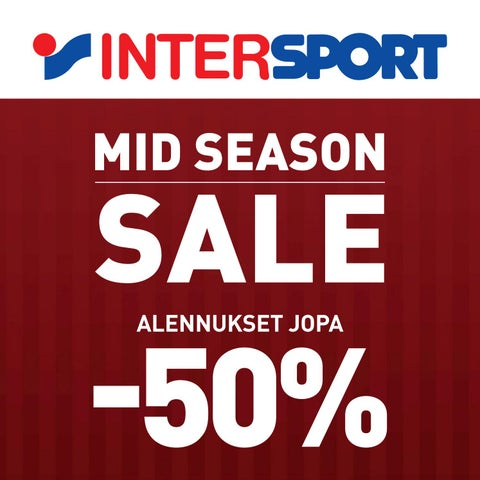 MID SEASON SALE by Intersport Finland - issuu ed4474ffb4