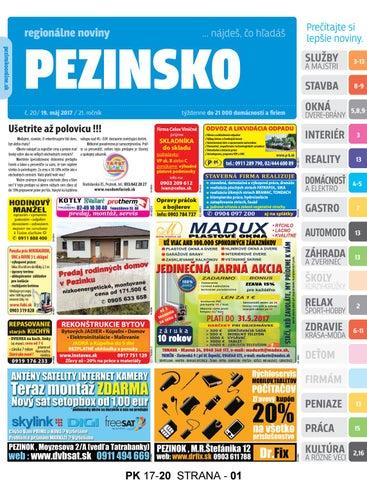 f2dbb27ad85b PEZINSKO 17-20 by pezinsko - issuu