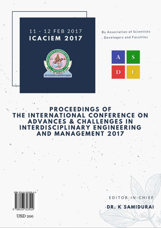 ICACIEM 2017 by ASDF Administartor - issuu