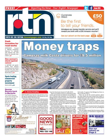 6ef79d6cd1 RTN Newspaper – Costa del Sol 19 - 25 May 2017 Issue 003 by Euro ...