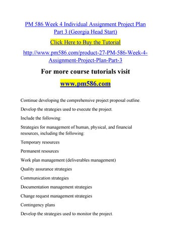 week 4 individual work