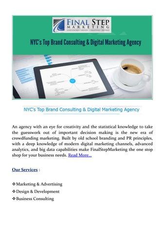 Final step marketing by Branding & Digital Marketing Agency NYC - issuu