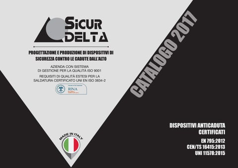 Catalogo sicur delta 2017 by issuu for Sicur delta