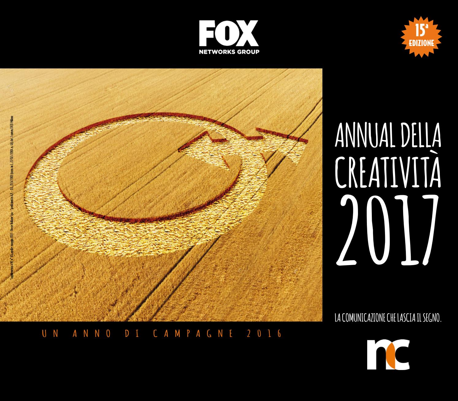 Annual della Creatività 2017 by ADC Group issuu