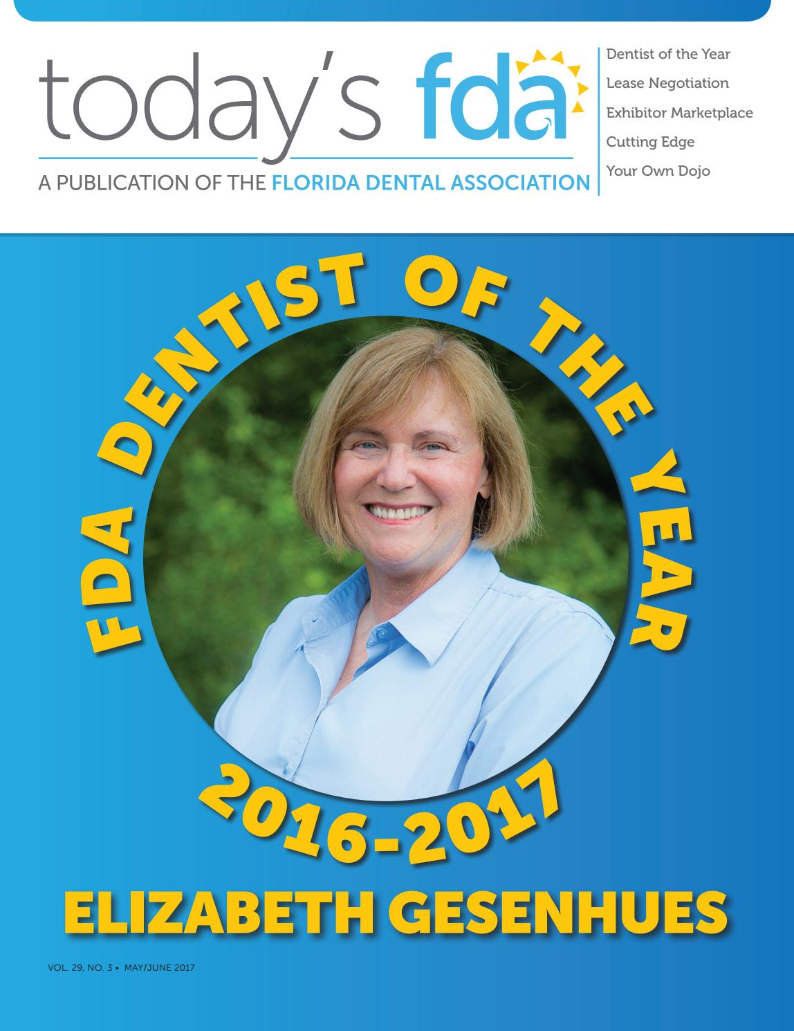tfda mayjune 2017 issuu by florida dental association issuu