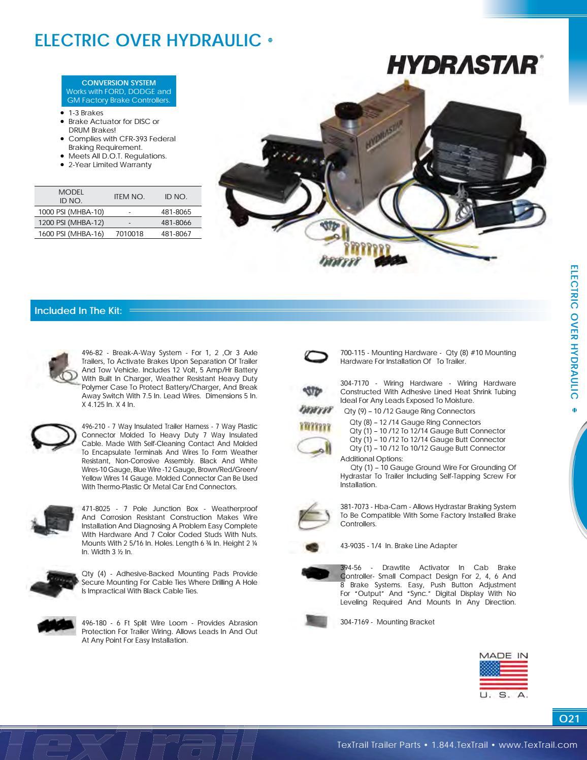 Groovy Textrail Trailer Parts Catalog By Big Tex Trailers Issuu Wiring Digital Resources Indicompassionincorg