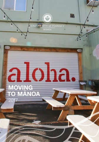 Manoa To Manoa By Office Of Admissions, University Of Hawaiu0027i At ...