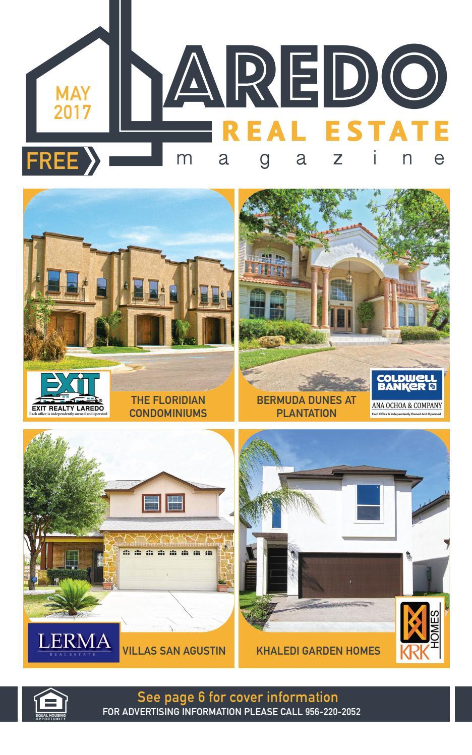 Laredo Real Estate Magazine May 2017 By Laredo Real Estate Magazine   Issuu