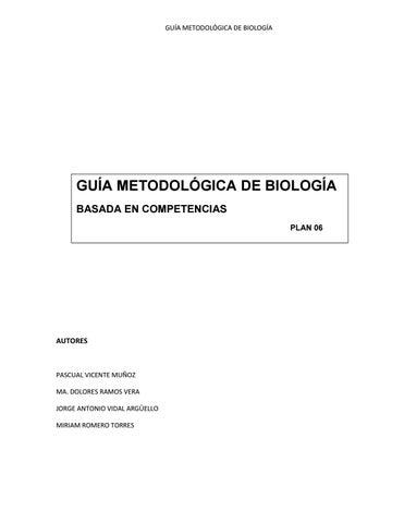 Guia Bio 2016 By Friscione Gerark Rabago Issuu