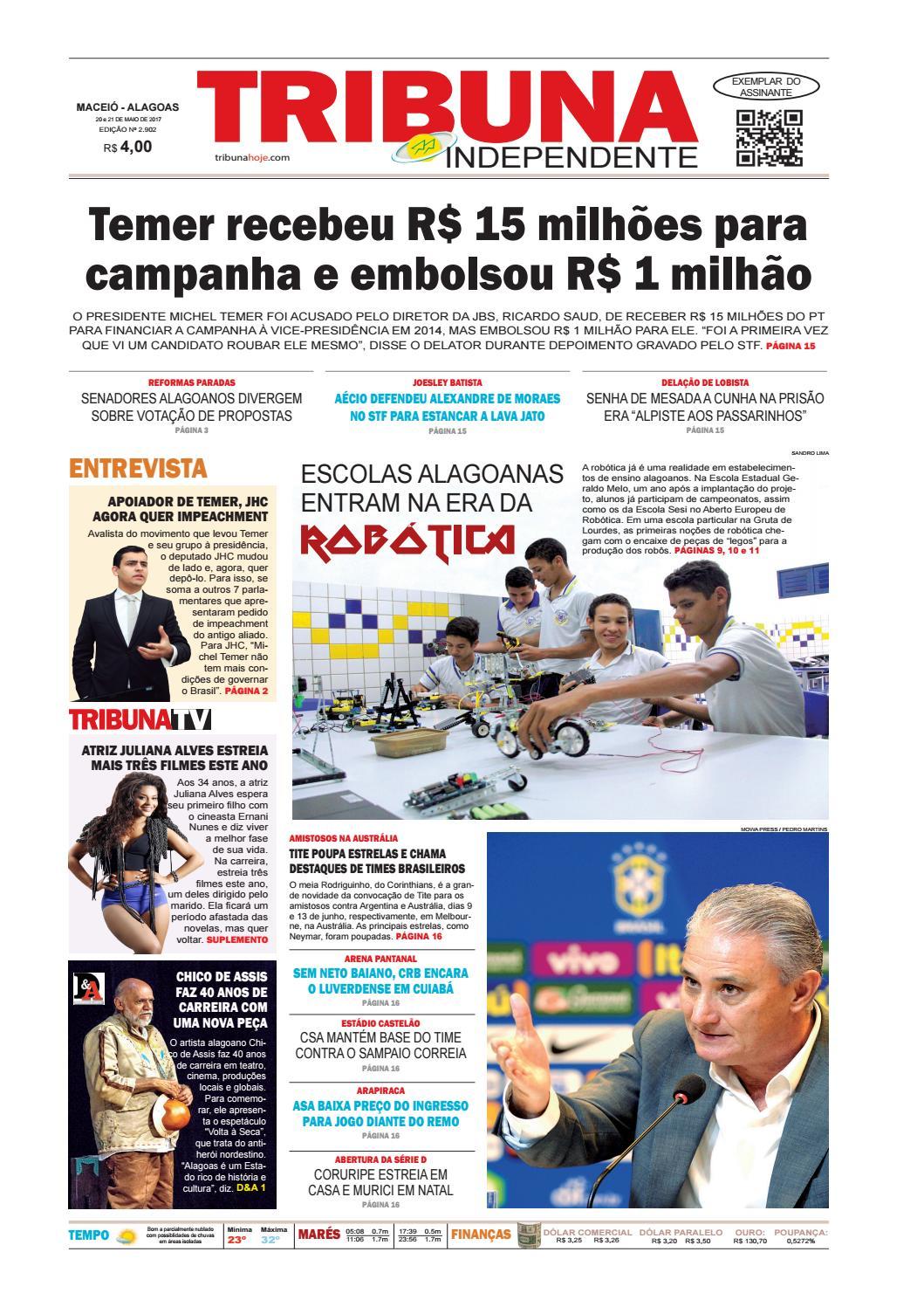 Edição número 2902 - 20 e 21 de maio de 2017 by Tribuna Hoje - issuu e66429d88124a