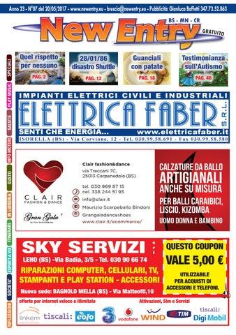 New Entry Edizione di Brescia del 22 Maggio 2017 by