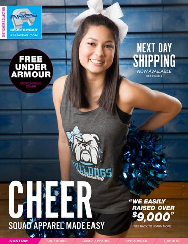 a457de0115 2017 Ares Sportswear Cheer Catalog by Ares Sportswear - issuu