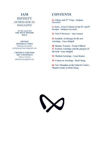 IAM #02 - The Split Sisters Issue by IAM INFINITY - issuu