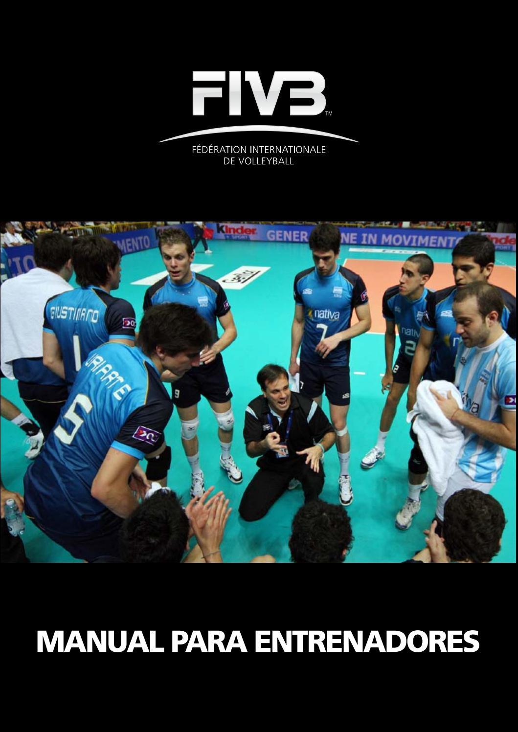 Manual para Entrenador nivel I (español) FIVB. by Mario Vasquez ...