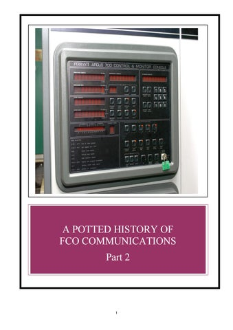 A Potted History of FCO Communications: Part 2 by FCO Historians - issuu