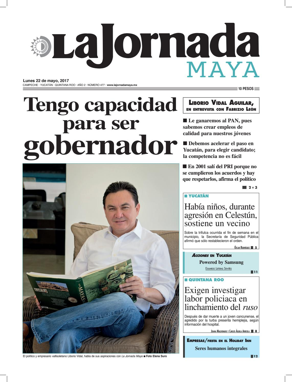 51d90c453036d La Jornada · Lunes 22 de mayo