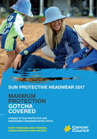 deb26711542 Cancer Council Australia Headwear Range 2017 by Tina M - issuu