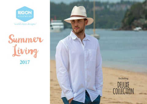 fa206baf63c Rigon Headwear Summer Living 2017 by Tina M - issuu