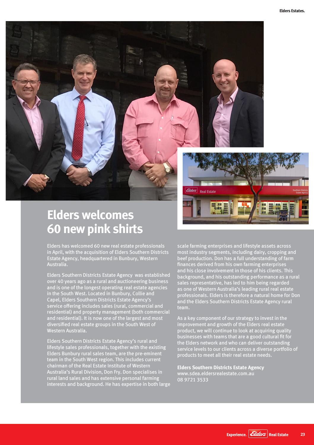 elders estates magazine may june 2017 by elders real. Black Bedroom Furniture Sets. Home Design Ideas