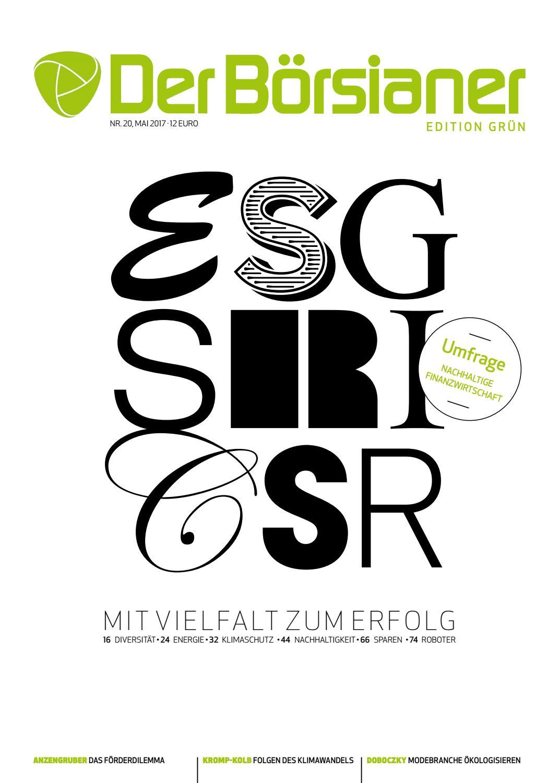 Der Börsianer 20. Ausgabe, Edition grün by Michael Berl - issuu