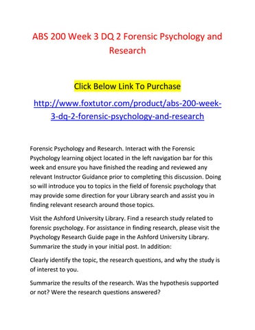 psychology hypothesis topics