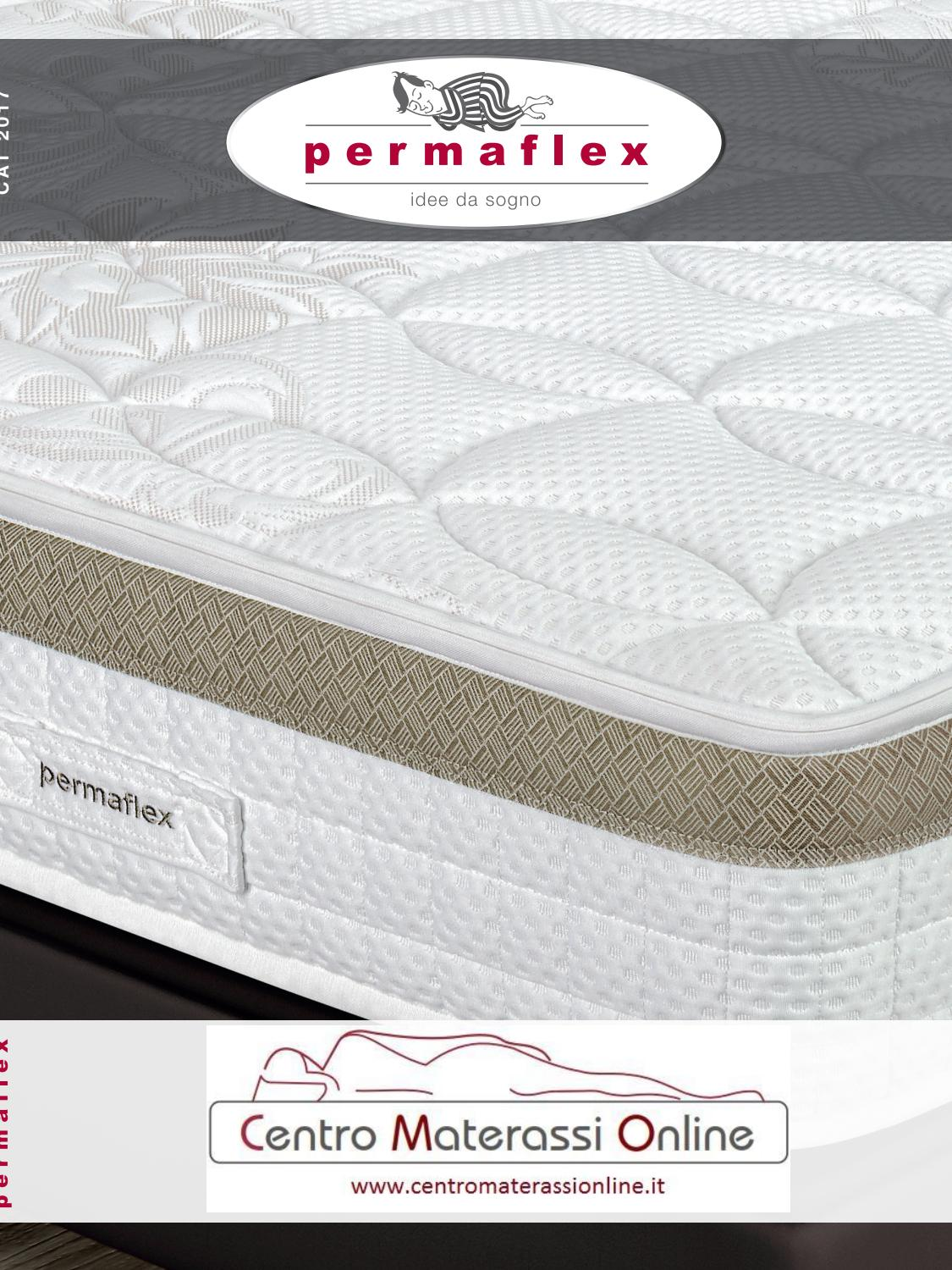 Materassi In Lattice Naturale Permaflex.Catalogo Permaflex Centromaterassionline Linea Lattice By Mobilpro