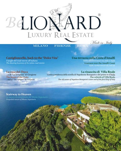 Be Lionard N 6 By Lionard Spa Issuu